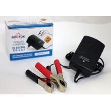 Зарядное устройство ВОСТОК 220-6-0,7 (для емкости 2-7 Ah)