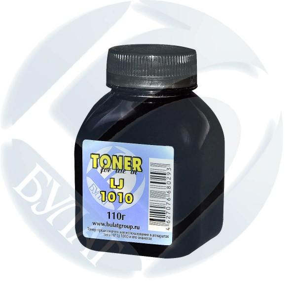 Тонер для HP LJ 1010 банка 110г БУЛАТ