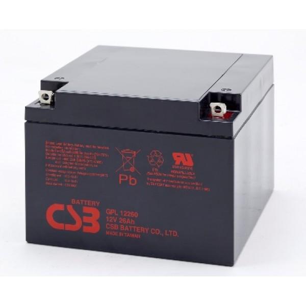 Аккумулятор CSB GPL 12260