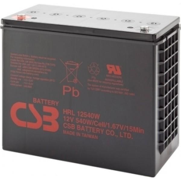 Аккумулятор CSB HRL12540W