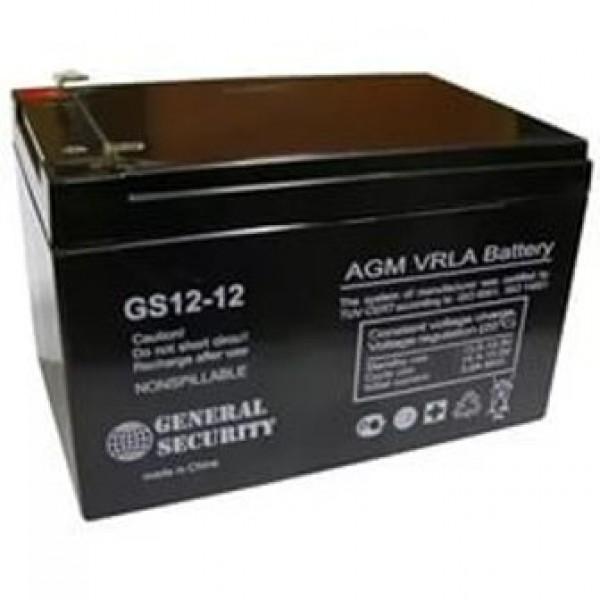 Аккумулятор General Security GS 12-12L