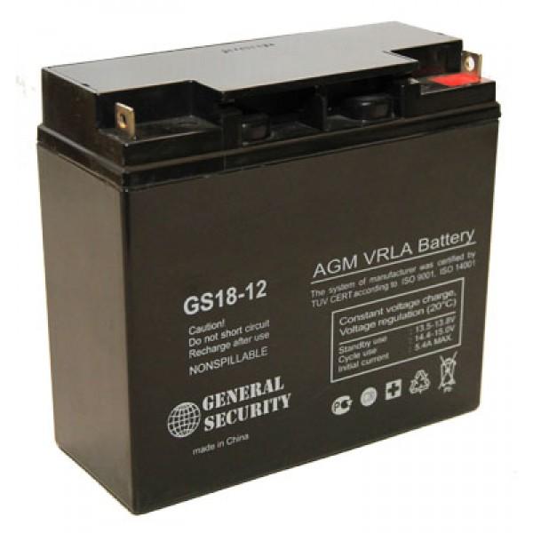 Аккумулятор General Security GS 12-18