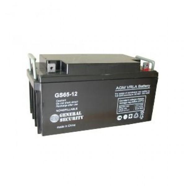 Аккумулятор General Security GS 12-65