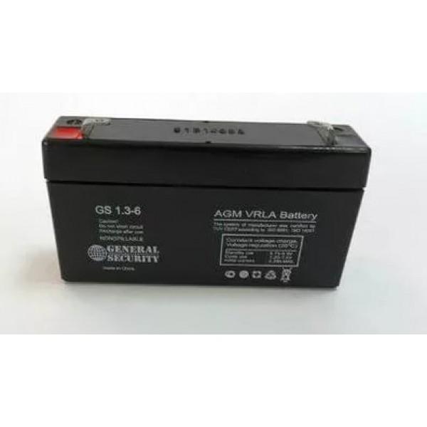 Аккумулятор General Security GS 6-1.3