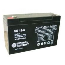 Аккумулятор General Security GSL 12-6