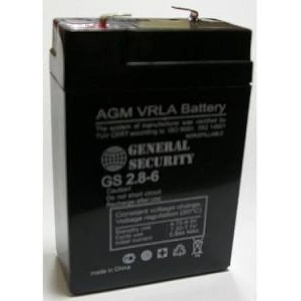 Аккумулятор General Security GS 6-2.8