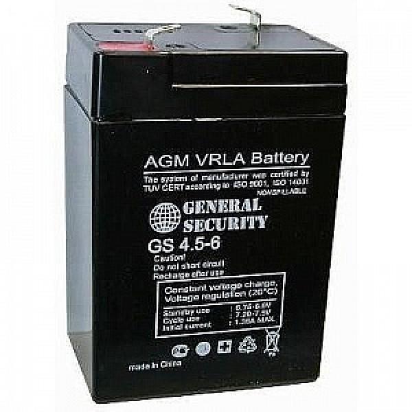 Аккумулятор General Security GS 6-4.5