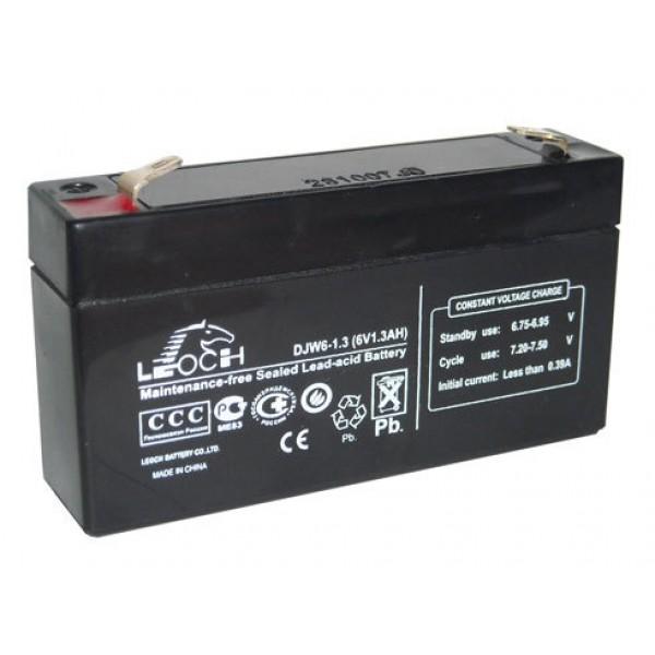 Аккумулятор Leoch DJW 6-1.3
