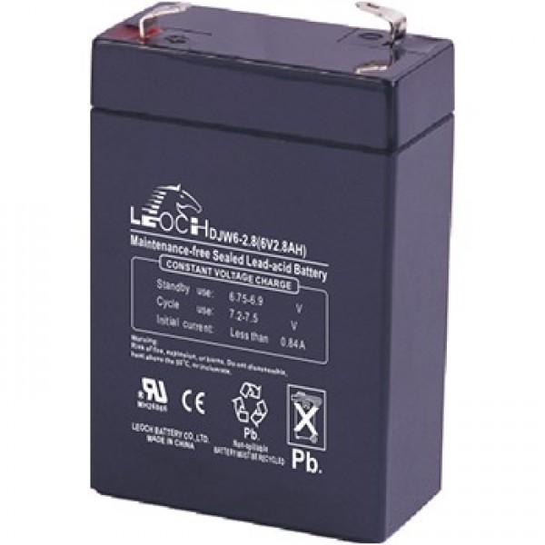 Аккумулятор Leoch DJW 6-2.8