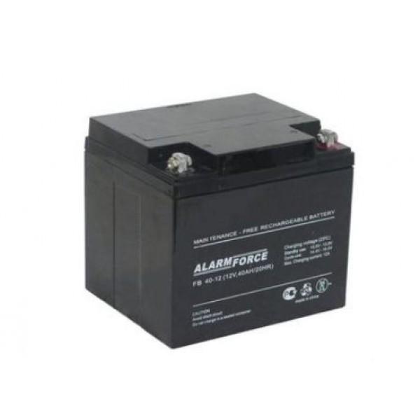 Аккумулятор Alarm Force FB 40-12