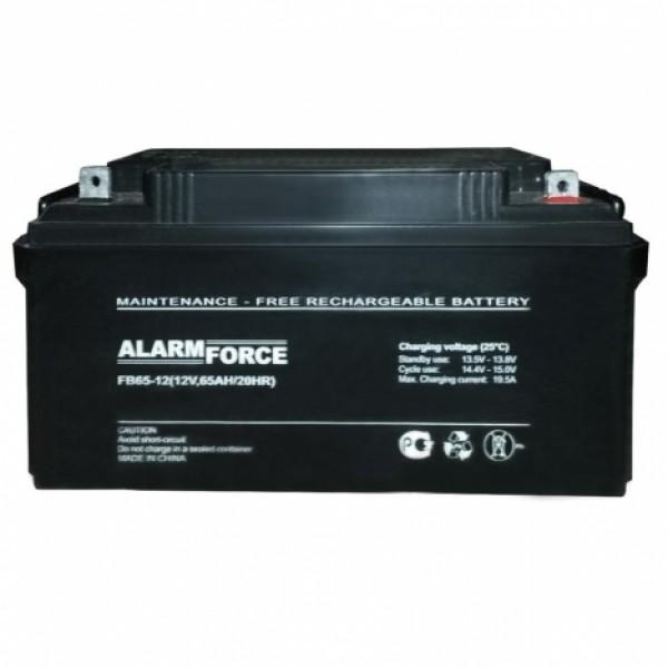 Аккумулятор Alarm Force FB 65-12