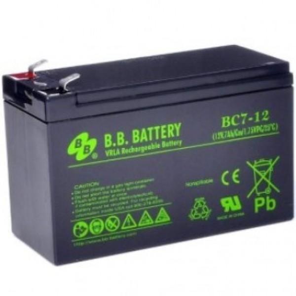 Аккумулятор B.B.Battery BC 7-12