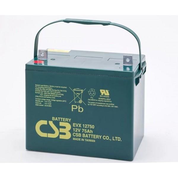Аккумулятор CSB EVX 12750