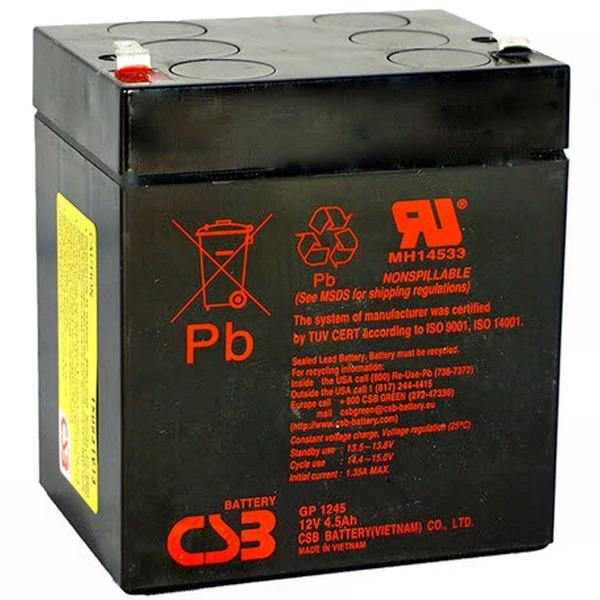 Аккумулятор CSB GP 1245(16W)