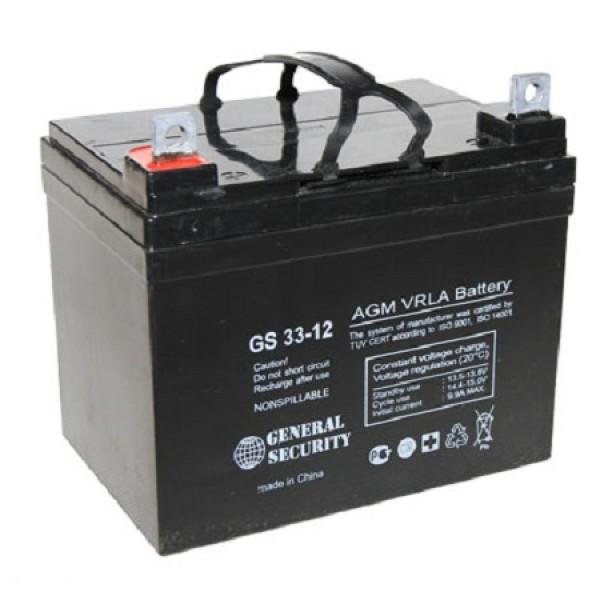 Аккумулятор General Security GS 12-33