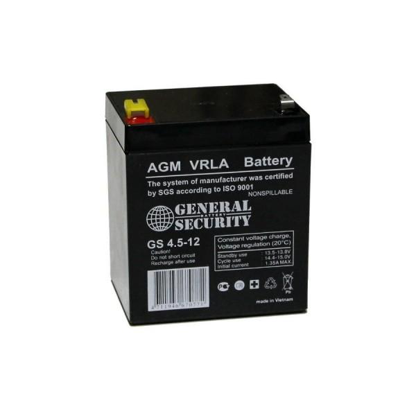 Аккумулятор General Security GS 12-4.5
