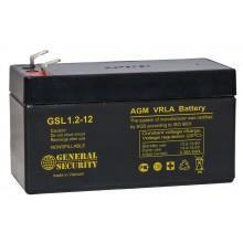 Аккумулятор General Security GSL 1,2-12