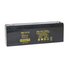 Аккумулятор General Security GSL 2.3-12