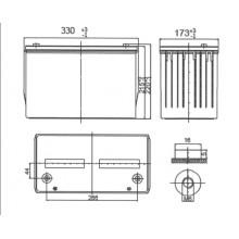 Аккумулятор Ventura HRL 12550W
