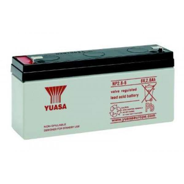 Аккумулятор Yuasa NP2,8-6