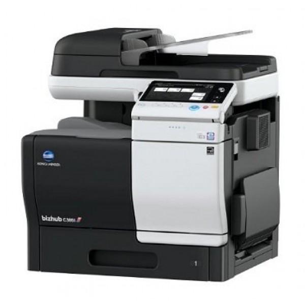 Konica Minolta bizhub C3851 - полноцветный лазерный копир/ PCL/PS-принтер/сканер/факс