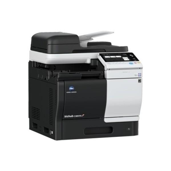 Konica Minolta bizhub C3851FS - полноцветный лазерный копир/ PCL/PS-принтер/сканер/факс/встроенный финишер