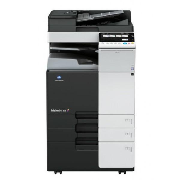 Konica Minolta bizhub C308 - полноцветный копир-принтер-цветной сканер