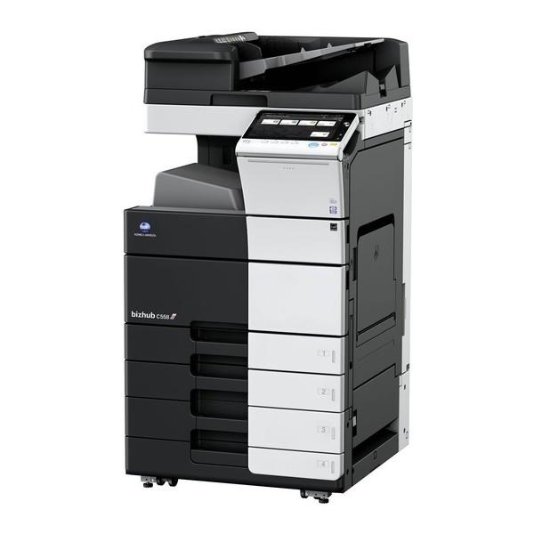 Konica Minolta  bizhub C558 - полноцветный копир-принтер-сканер