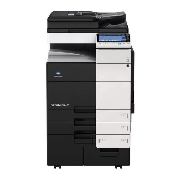Konica Minolta bizhub C754e - полноцветный копир-принтер-сканер