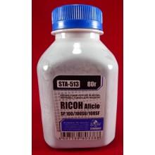 Black&White Тонер для Ricoh Aficio SP100/SP111/SP150/SP200/SP210/SP211/SP213/SP311/SP3400/SP3500 (фл. 80г) B&W Standart фас.Россия арт.:STA-513