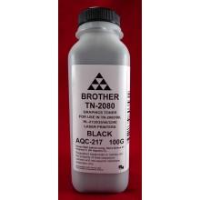 AQC-RUS Тонер Brother TN 2080/2090/2235/2275 HL 2240/2140/2130/2132/2135 (фл. 100г) AQC-США фас.Россия арт.:AQC-217