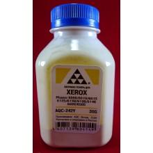 AQC-RUS Тонер XEROX Phaser 6000/6010/6015/6125/6128/6130/6140/6500/6505/6510/6515 Yellow (фл. 30г) AQC-США фас.Россия арт.:AQC-242Y