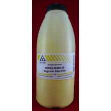 AQC-RUS Тонер Konica-Minolta MC 2400/2430/2450/2480/2490/2500/2530/2550/2590 Yellow (фл. 175г) AQC фас.Россия арт.:AQC-244Y