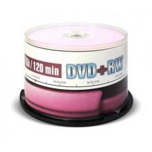 Диск DVD+RW Mirex 4.7 Gb, 4x, Cake Box (50), (50/300) арт.:UL130022A4B