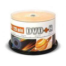 Диск DVD+R Mirex 4.7 Gb, 16x, Cake Box (50), (50/300) арт.:UL130013A1B