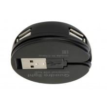 Defender Универсальный USB разветвитель Quadro Light USB 2.0, 4 порта арт.:83201