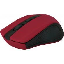 Defender Беспроводная оптическая мышь Accura MM-935 красный,4 кнопки,800-1600 dpi арт.:52937