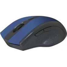 Defender Беспроводная оптическая мышь Accura MM-665 синий,6 кнопок,800-1200 dpi арт.:52667