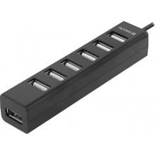 Defender Универсальный USB разветвитель Quadro Swift USB2.0, 7 портов DEFENDER арт.:83203
