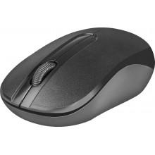 Defender Беспроводная оптическая мышь Datum MM-285 черный,3 кнопки,1600 dpi арт.:52285
