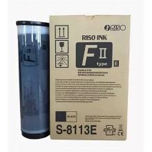 Краска RISO RZ/EZ/F  Black FII (1000мл) (o) ( ПРОДАВАТЬ КРАТНО ДВУМ ШТУКАМ!!!) арт.:S-8113E