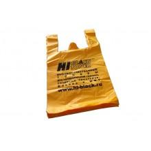 Пакет-майка Hi-Black, ПНД, цвет-желтый, 380x600 мм (в упаковке 100 шт.) арт.:pr081
